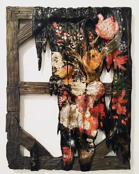 , 'Broken Painting (Flowers),' 2017, Mother Gallery