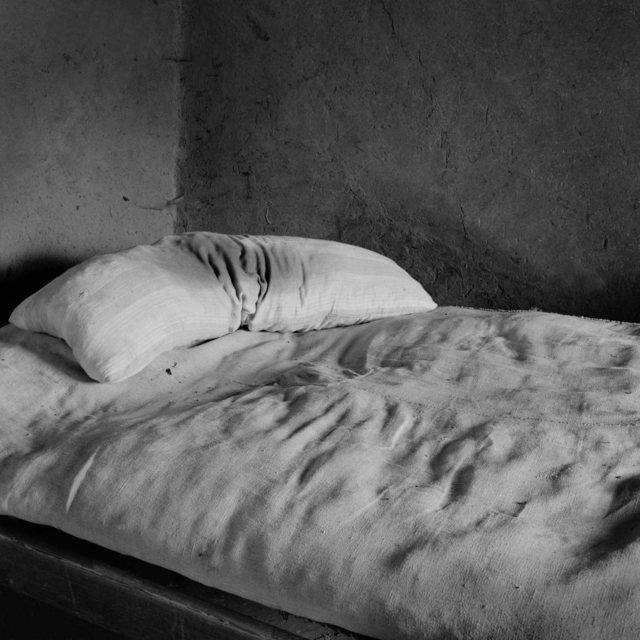 , 'Cama de Los Corrales,' 1983, Blanca Berlín