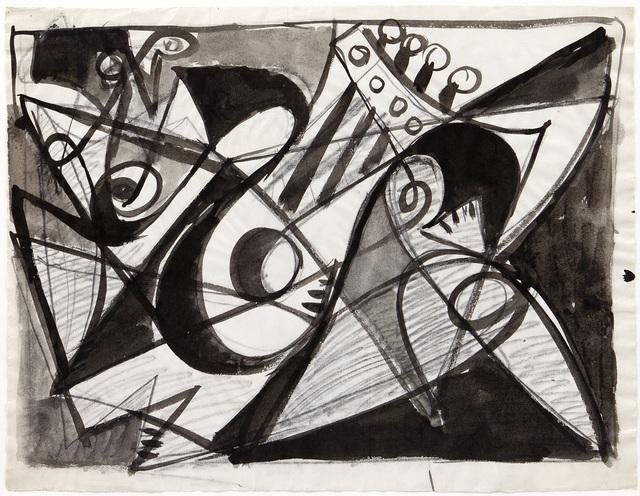 , 'Figurale - musician,' 1949, Jahn und Jahn