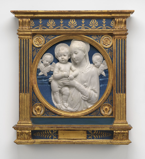 , 'Madonna and Child with Cherubim,' , Museum of Fine Arts, Boston