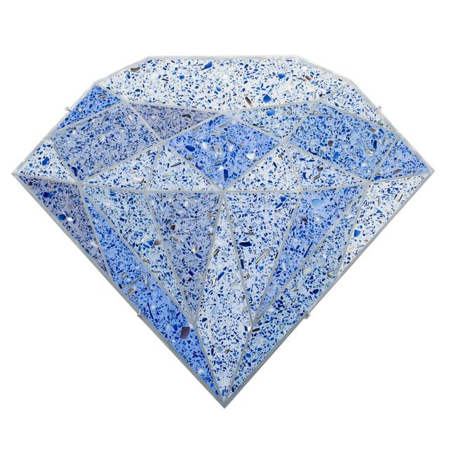 , 'Terrazzo Diamond (Blue),' 2016, R/SF projects
