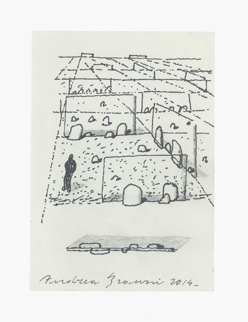 , 'Dolmen,' 2014, Antonia Jannone Disegni di Architettura
