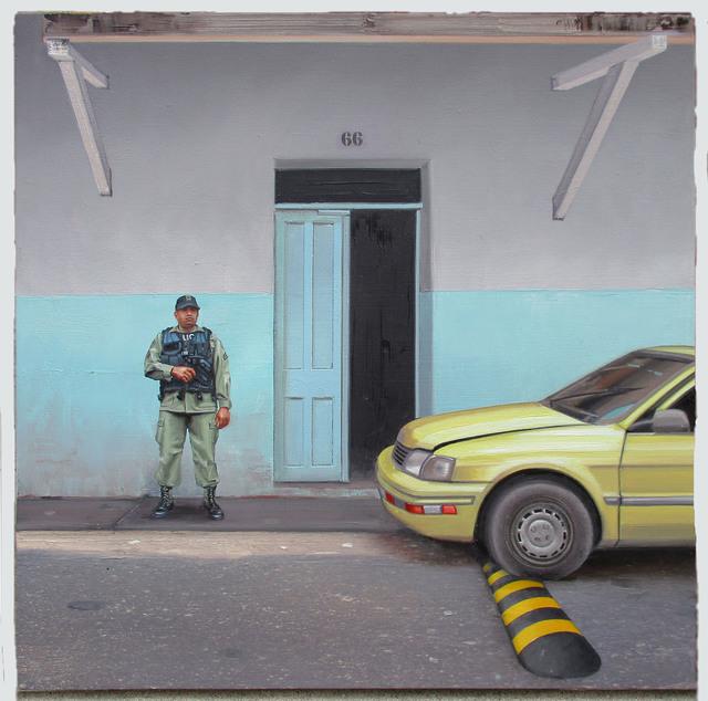 , 'EL POLICÍA MUERTO,' 2016, Davidson