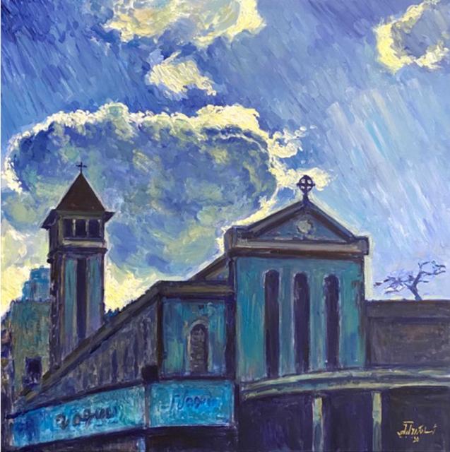 Oussama Baalbaki, 'Untitled 7', 2020, Painting, Acrylic on canvas, Artscoops