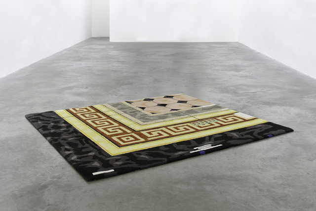 , 'A rug for a National Gallery,' 2016, Galerie Huit
