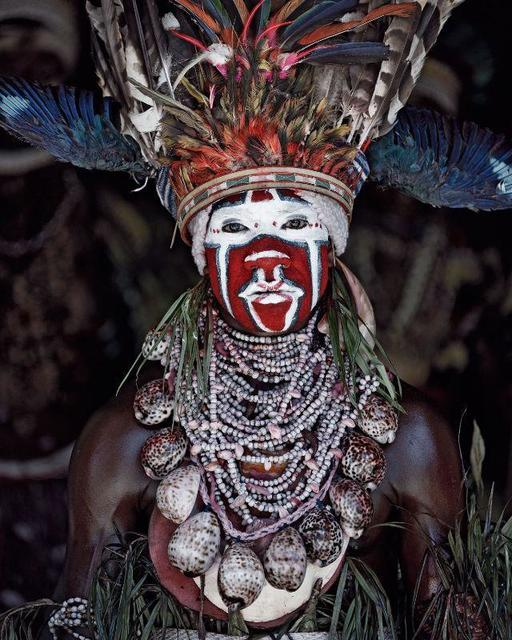 , 'XV 77 - Kui East Wigman - Mount Hagen, Western Highlands -Papua New Guinea,' 2010, AbrahamArt