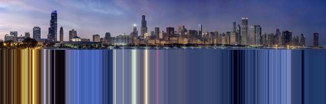 , 'Facsimile Chicago #1,' 2015, Rosier Gallery