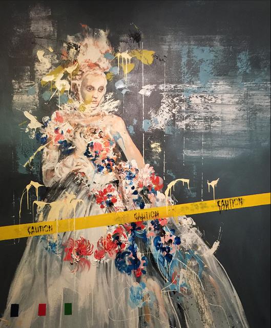 , 'Gloves On,' 2017, Lois Lambert Gallery
