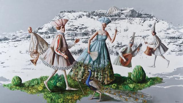 """, '""""White Summer I"""" / """"Beyaz Yaz I"""",' 2012, Galeri 77"""