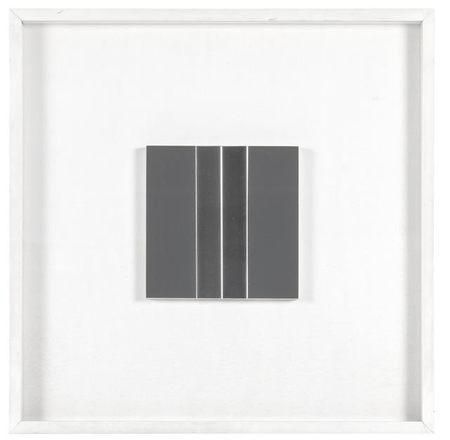 Getulio Alviani, 'Superficie a struttura vibratile (studio)', 1972, Glenda Cinquegrana Art Consulting