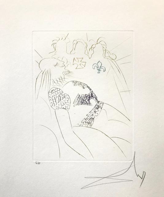 Salvador Dalí, 'HENRY IV', 1970, Print, ETCHING, Gallery Art