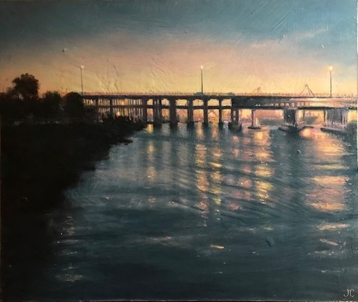 , 'Bridges , Trains and Automobiles,' 2018, Margaret River Art Gallery