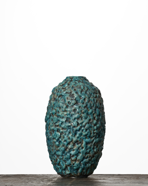 , 'Stretch Turquoise Moonjar #1895,' 2016, Jason Jacques Gallery