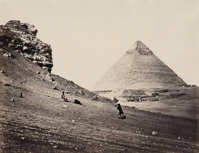 , 'The Second Pyramid from the Southeast, Egypt,' 1858, Lee Gallery