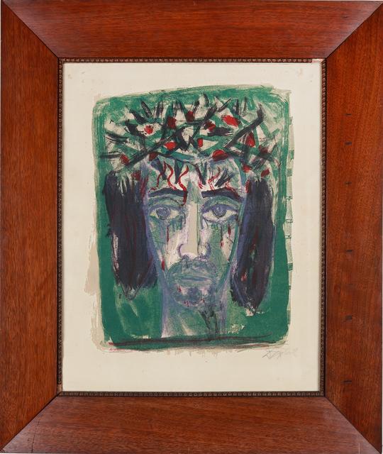 """Otto Dix, '""""Christuskopf""""', 1962, Art 1900"""