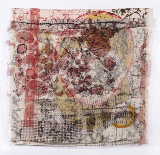 Dianne Koppisch Hricko, 'Cycle', 2019, Textile Arts, Silk organza, silk habotai, cotton, wool, MX dye, InLiquid