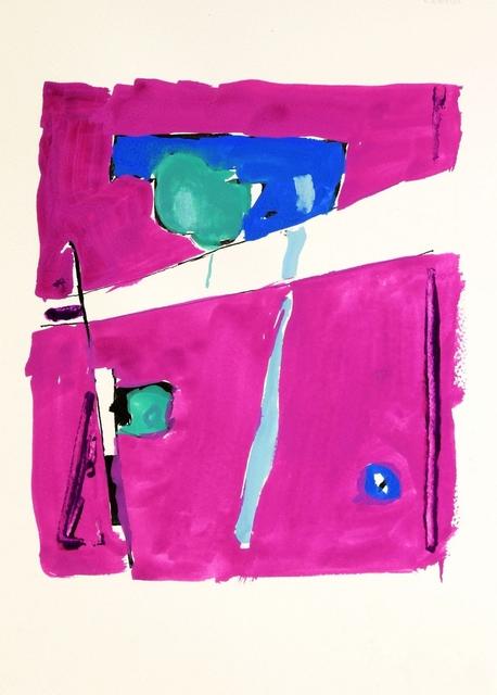 , 'Untitled (Study, Violent Act),' 2016, Galerie Kornfeld