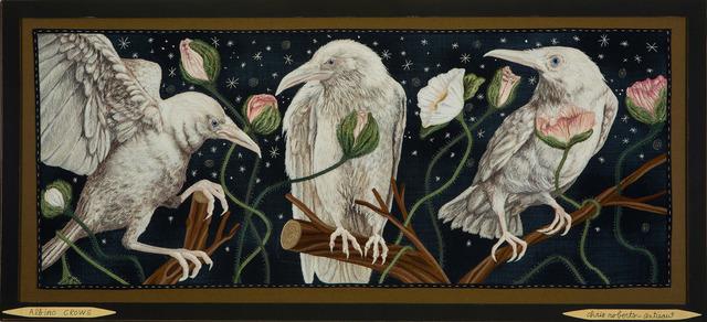 , 'Albino Crows,' 2018, Antieau Gallery