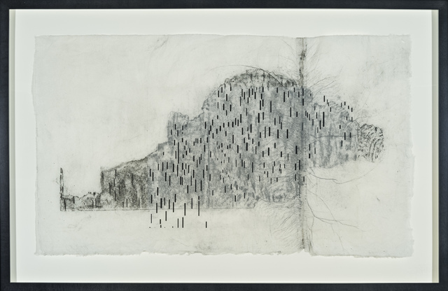 , 'Birch Rubbing #7,' 2012, Tayloe Piggott Gallery