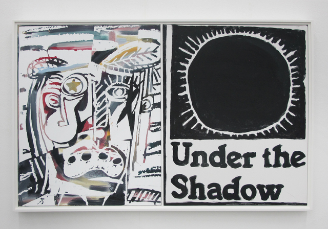 , 'Under The Shadow (Stereo Painting),' 2017, V1 Gallery