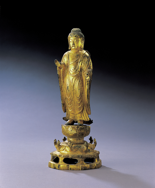 , 'Buddha,' Unified Silla-8th century, Leeum, Samsung Museum of Art