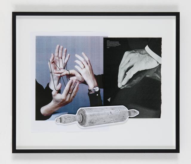 , 'Politics, (Nudelholz),' 2015, Eleni Koroneou