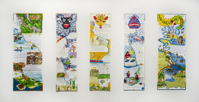 Carolina Caycedo, 'Iguaçu', 2016, Books and Portfolios, Marker over canson paper and artist book-binding, Instituto de Visión