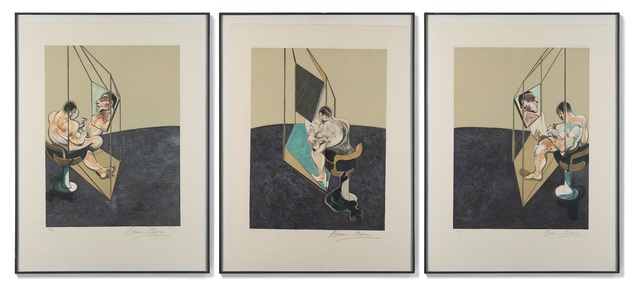 Francis Bacon, 'Three Studies of the Male Back', 1987, Il Ponte