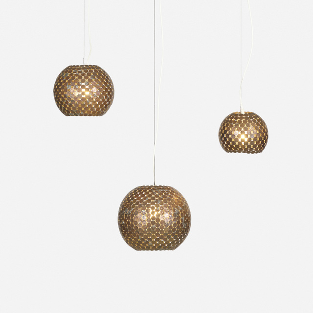 Mungo Thomson, 'Coin Lamps, Set of Three', 2004, Wright
