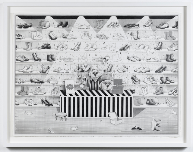 , 'Shoe de Grâce,' 2018, Richard Heller Gallery