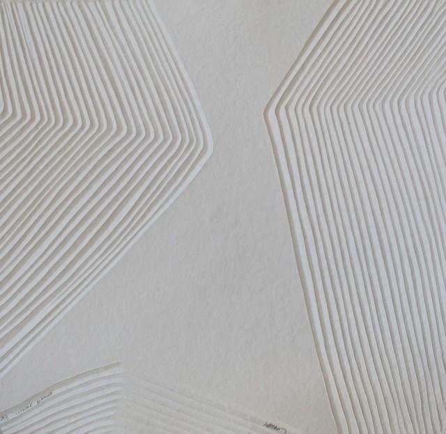 , 'aquagravure Lumière blanche -  on heavy handmade paper,' 2018, Galerie Estampe