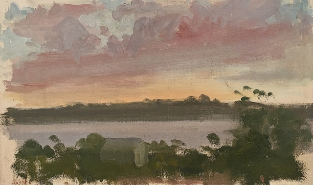 , 'Sunset, Chilmark, Martha's Vineyard,' 1963, Lawrence Fine Art