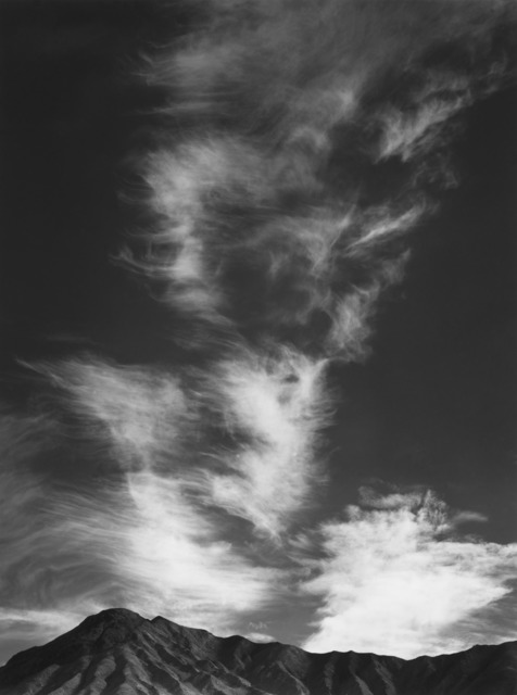 Ansel Adams, 'Clouds above Golden Canyon, Death Valley National Park, California', 1946, The Ansel Adams Gallery