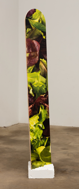 , 'salad stick,' 2016, Erin Cluley Gallery