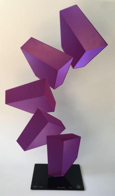 Rafael Barrios, 'Ascending Nimbus F206 - Magenta, 2016', Bel-Air Fine Art