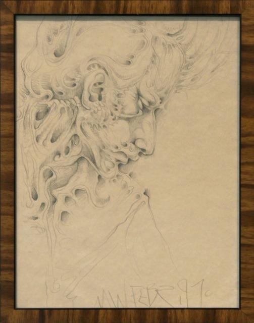 , 'Untitled (Profile Portrait),' 1970, Anglim Gilbert Gallery