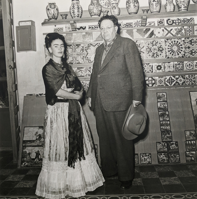 Leo Matiz, 'Frida Kahlo & Diego Rivera, Coyoàcan, Mexico', 1944 [printed 1997], Westwood Gallery NYC