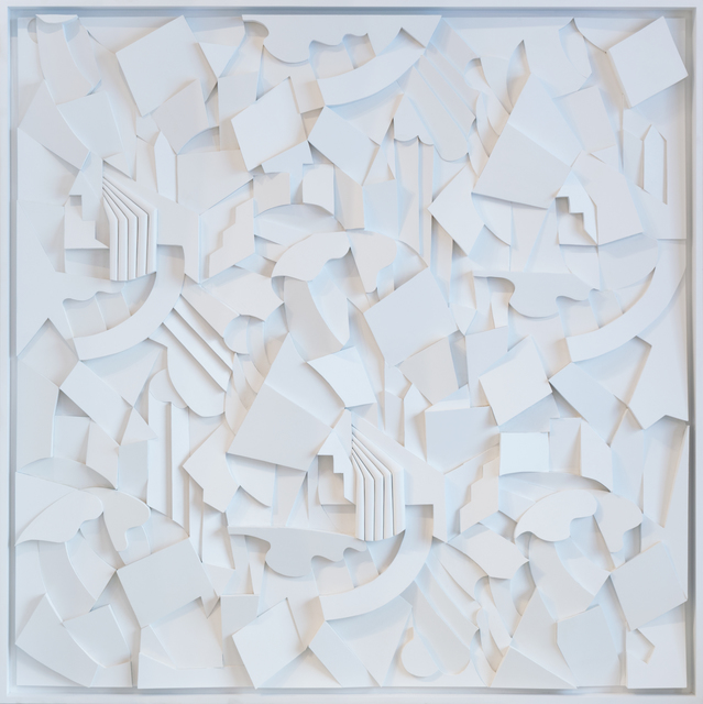 , 'Syncopation White,' 2018, Cheryl Hazan Gallery