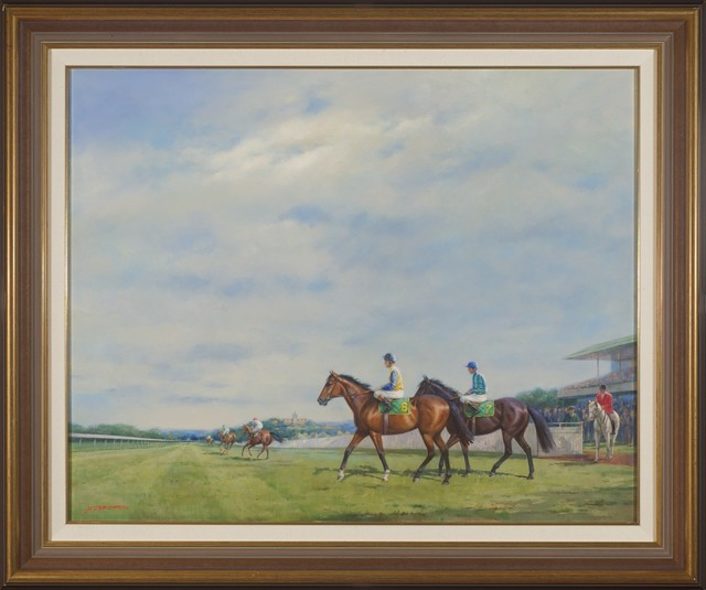 Alister Simpson, 'In the Lead', Wentworth Galleries
