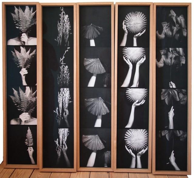 , 'Le Quintet photomaton-Hâiku,' 2015, Alberta Pane