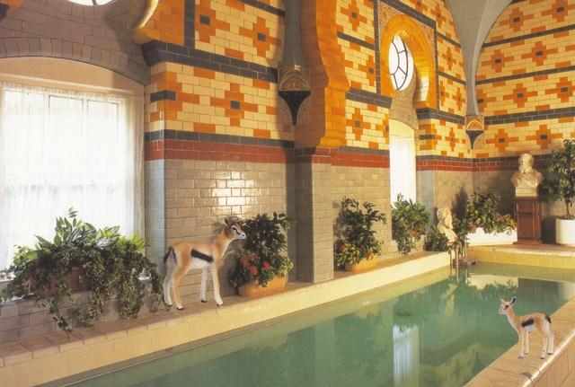 , 'Gazelles at the Harrogate Baths,' 2013, Wilding Cran Gallery