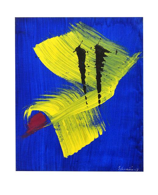 Gérard Schneider, 'Abstract composition', 1969, Millon Belgium