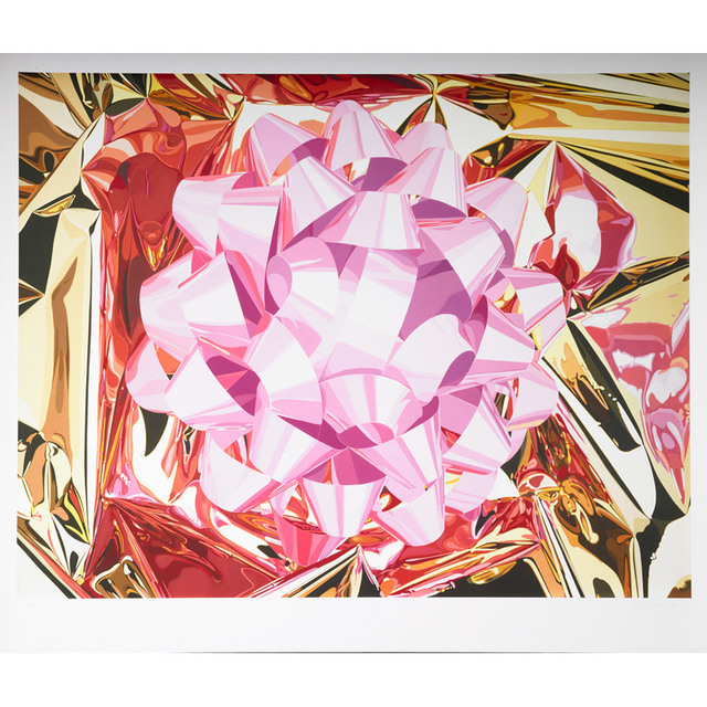 Jeff Koons, 'Pink Bow from Celebration Series', 2013, Print, Pigment print on Japanese paper, Rago/Wright