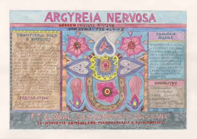 , 'HFT The Gardener/Outsider artworks/Argyreia nervosa (Woodrose),' 2015, P.P.O.W