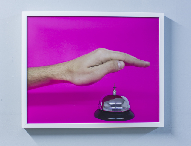, 'For Assistance (Pink Call Bell),' 2014, Cardoza Fine Art