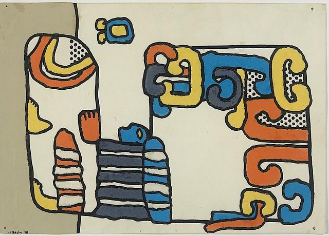 José Bedia, 'Estela Maya', 1978, TOTH GALLERY