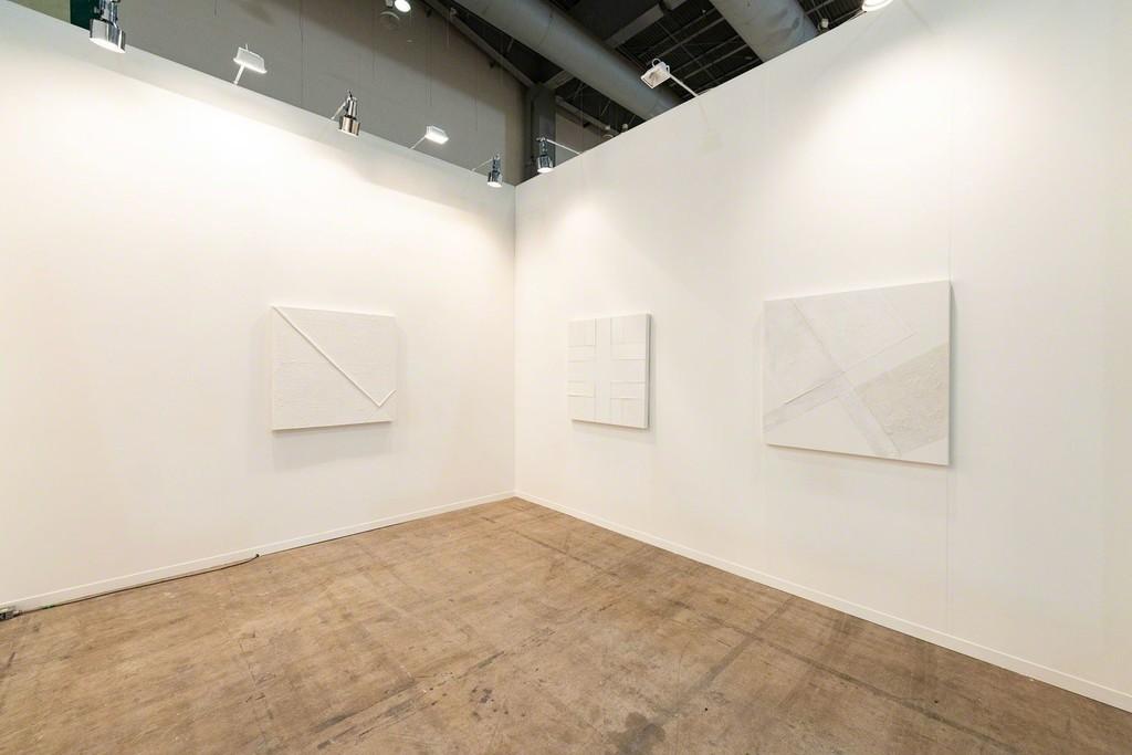 Zona Maco, Mexico City. Claire Milbrath & Pablo Rasgado, Installation view, Steve Turner, February 2019