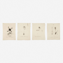 Jim Dine, 'Flaubert Favorites, Edition A (four works),' 1972, Wright: Prints + Multiples (January 2017)
