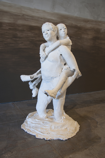 , 'James and Baby Girl Star,' 2018, Wilding Cran Gallery