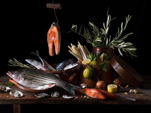 Paulette Tavormina, 'Still Life with Salmon', 2019, Robert Mann Gallery